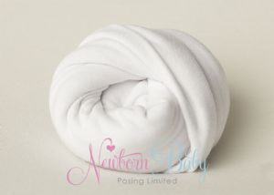 Plain Stretch Wrap ~ White